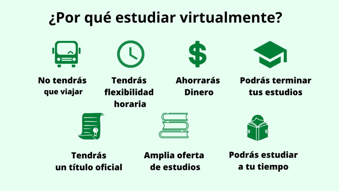 ventajas de estudiar virtualmente